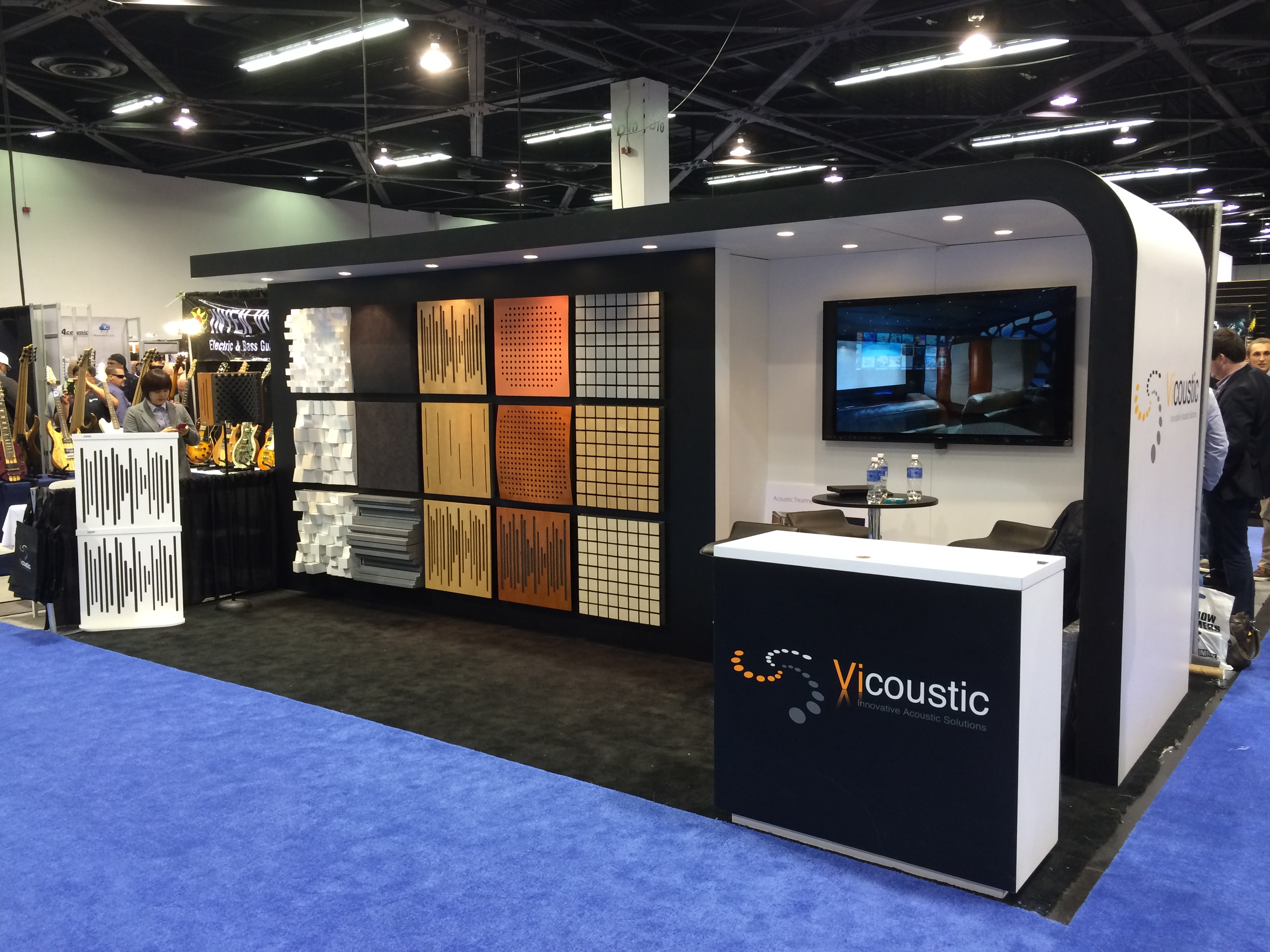 soundproofing company at convention center